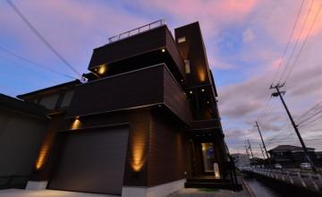 01 姫路市 デザイナーズハウス 完成見学会 木造三階建て 長期優良住宅