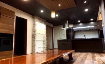 01 姫路市 リノベーション工事 リフォーム工事 和風 木材 ナチュラル 建具